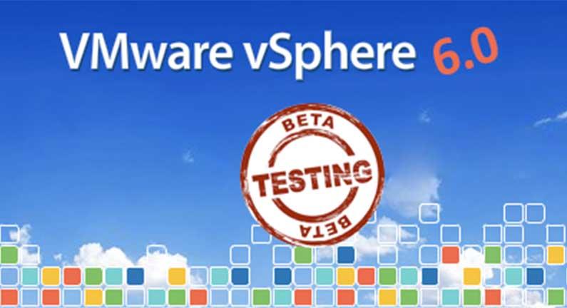 VMware vSphere Beta 6 Program