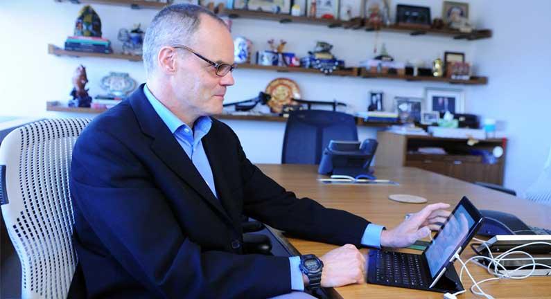 The Post-PC CEO: No Desktop